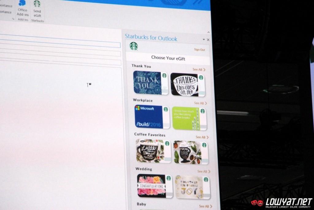 160331 Starbucks Add-In For Outlook 01