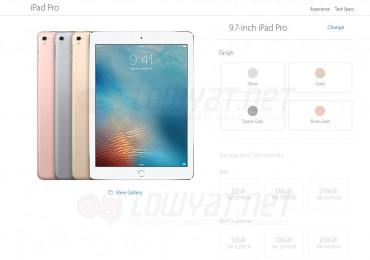 9.7-inch Apple iPad Pro Pricing in Malaysia