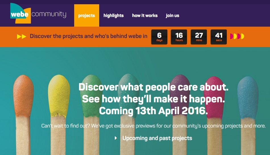 webe community Countdown