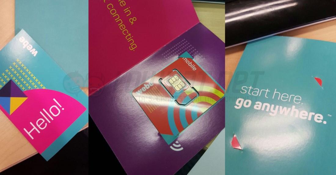 webe SIM Card