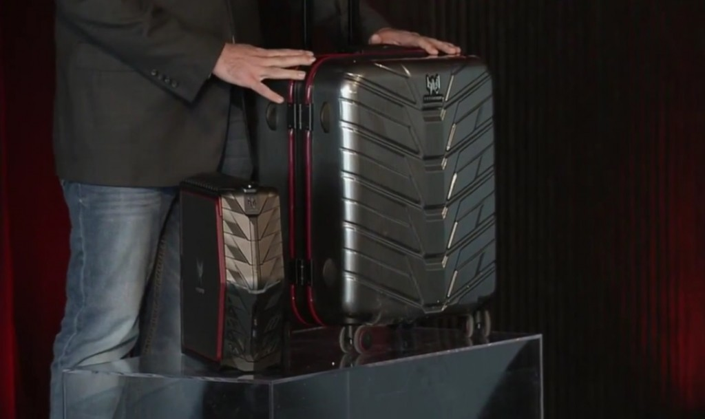 Acer Predator G1 and Its Carrying Case