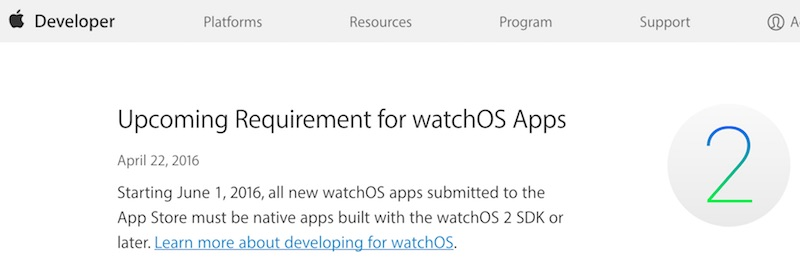 Apple Watch Native Apps