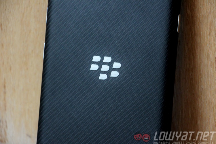 BlackBerry Priv Back
