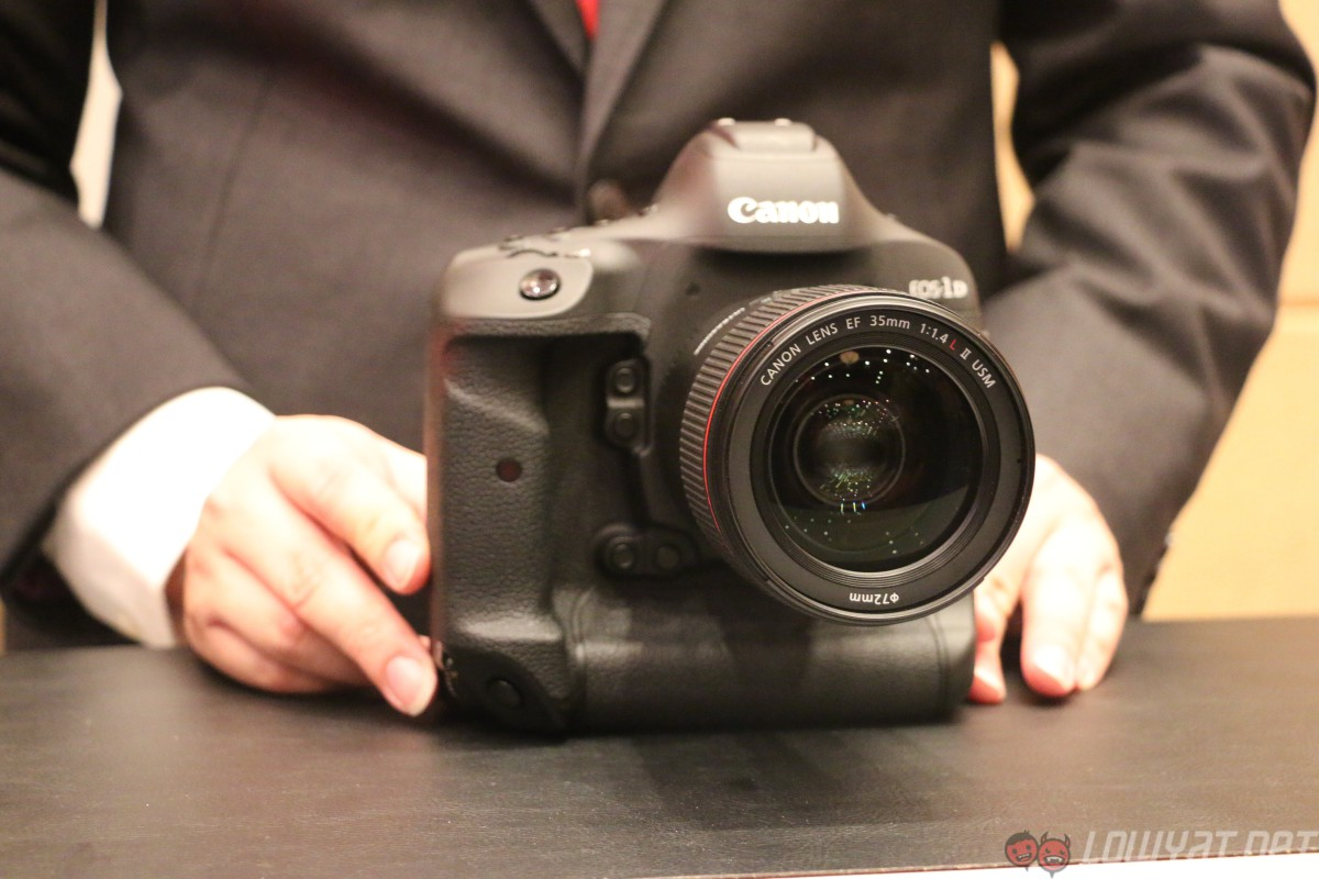 Canon Launches The Eos 1d X Mark Ii In Malaysia Along With Ixus 175 Silver