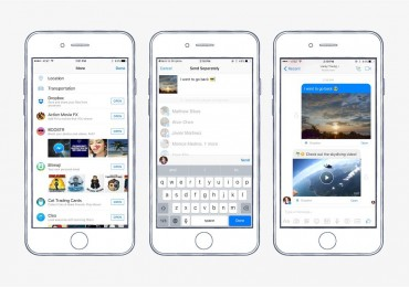 Dropbox Facebook Messenger Integration