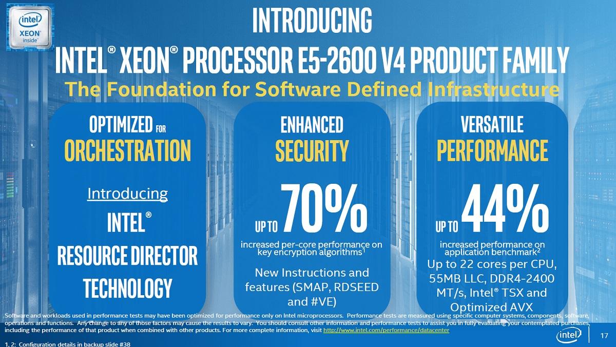 Intel broadwell ep