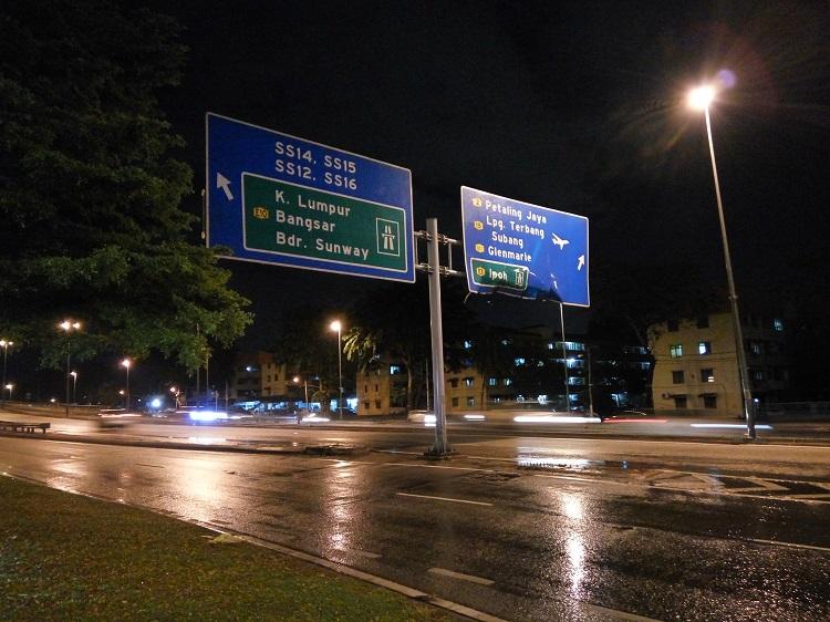KL Road Sign