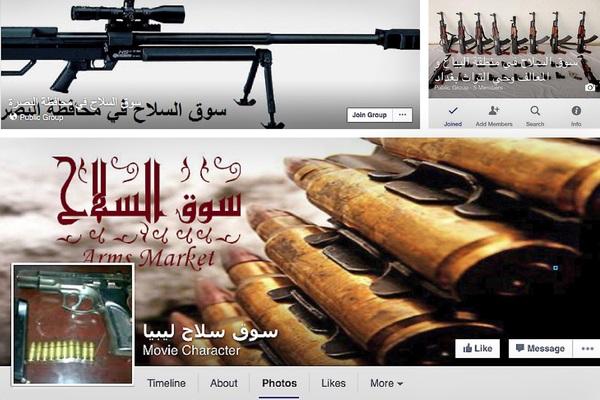 Libya FB Weapons Sales
