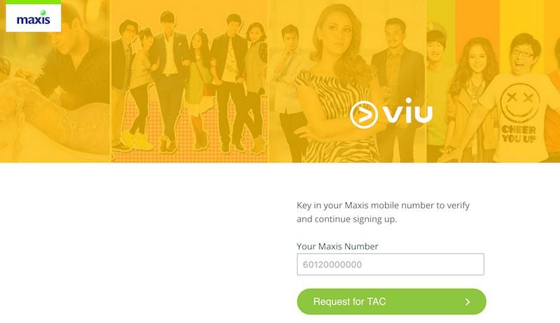 Maxis Free Viu