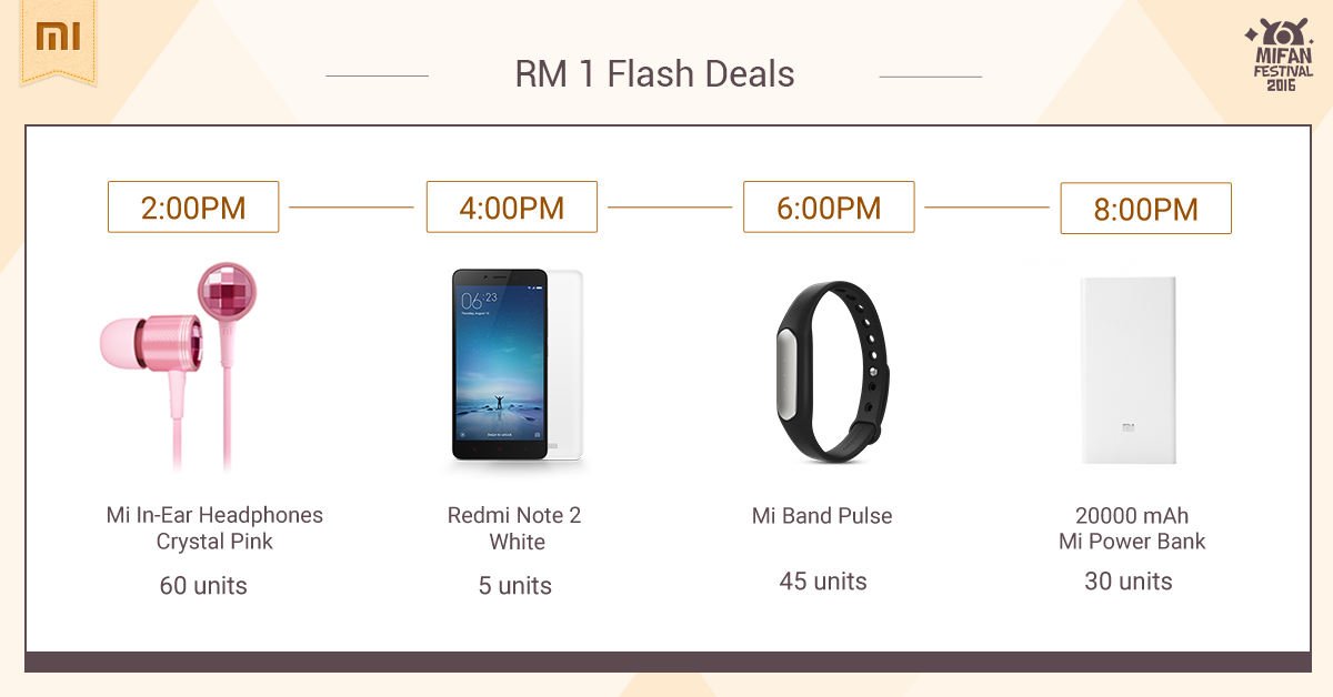 Mi Fan Festival 2016 Flash Sales