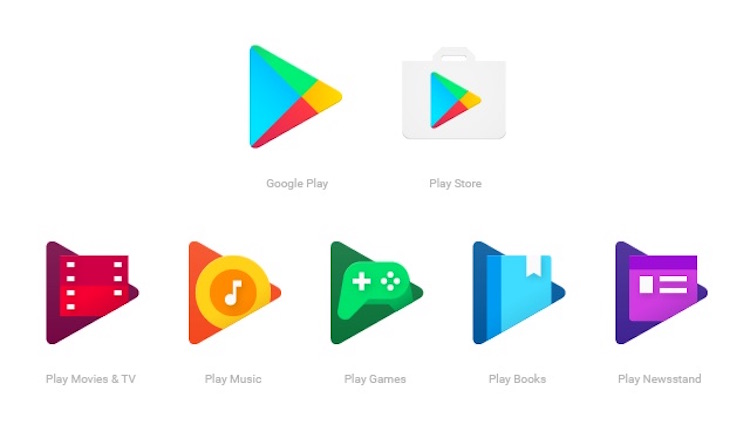 New Google Play Icons 2016