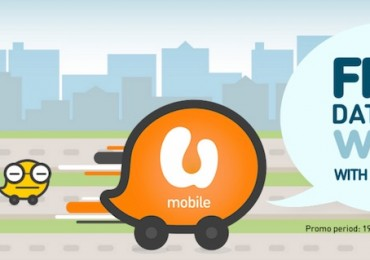U Mobile Free Data for Waze