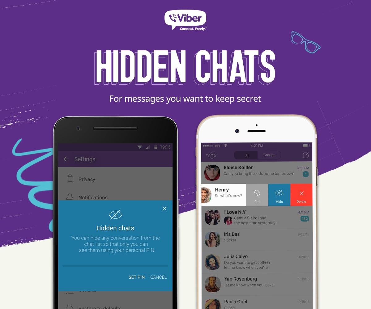Viber Hidden Chats