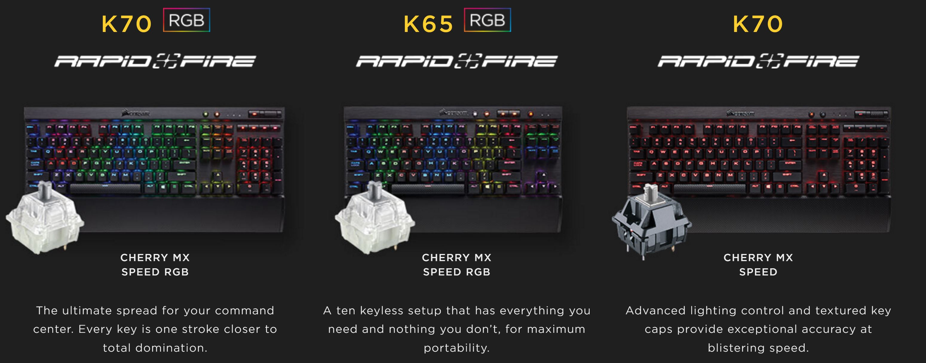 corsair k70 rgb price