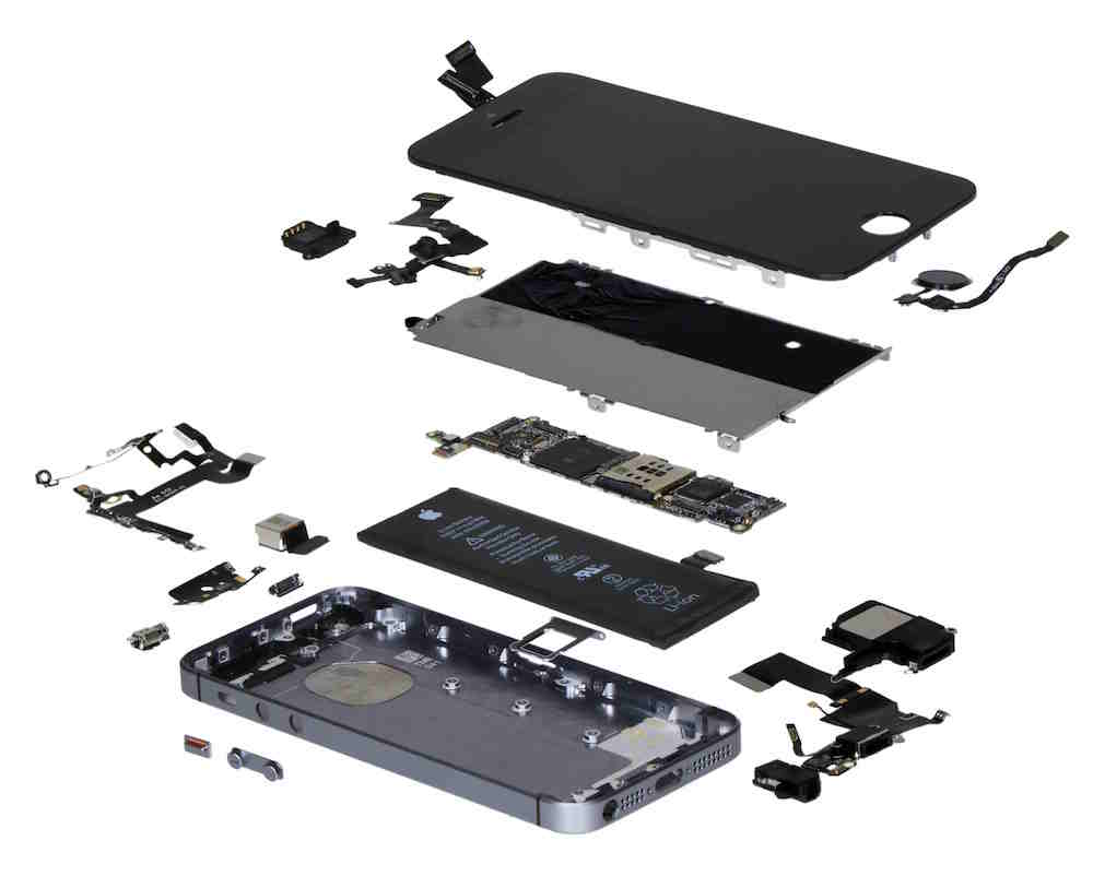 iPhone SE Exploded View