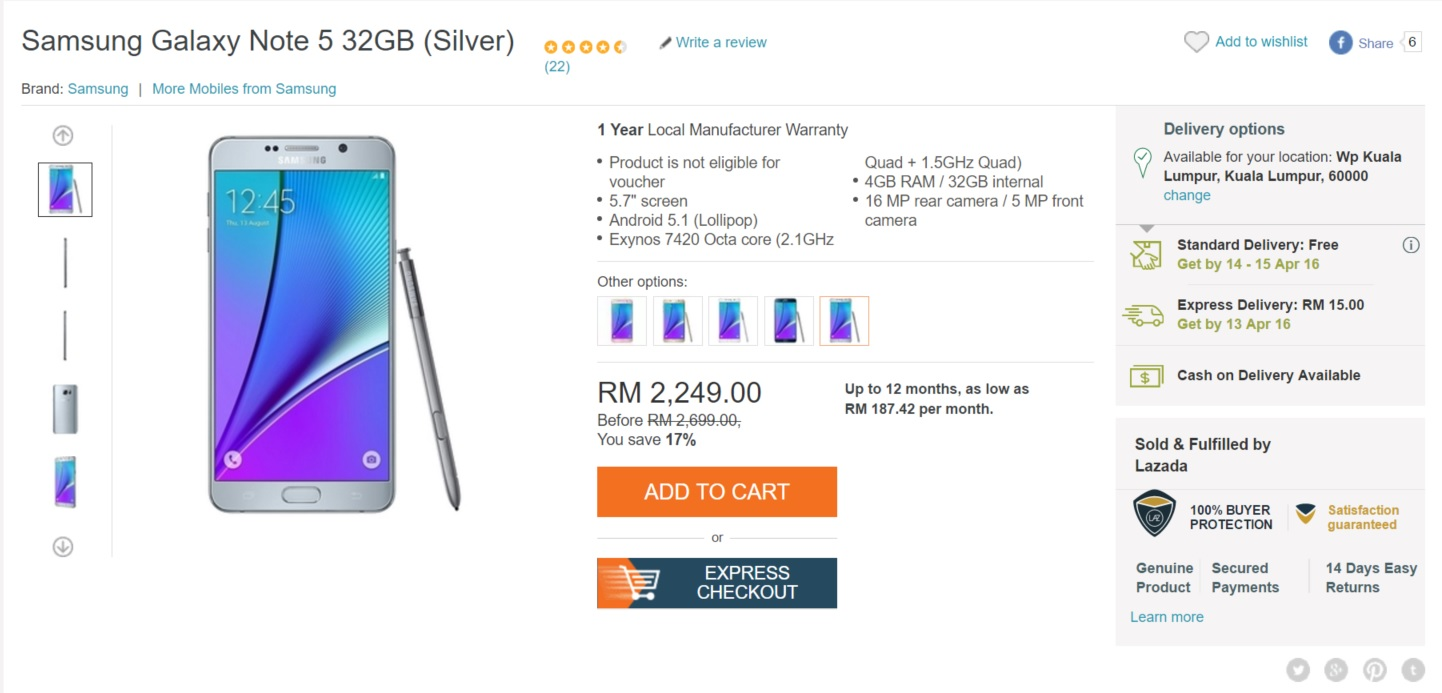 Lazada Begins Rolling Out Same-Day Delivery Option For