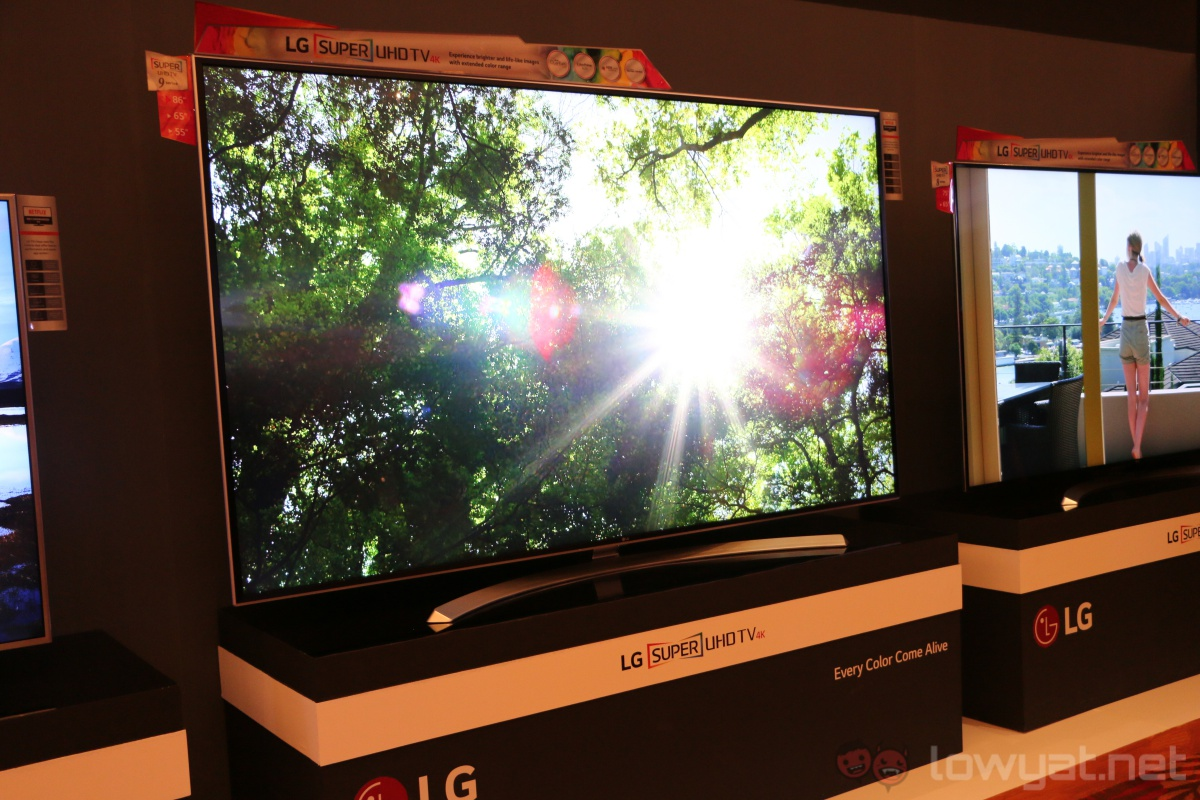 lg launches its latest 4k oled tvs in malaysia retail. Black Bedroom Furniture Sets. Home Design Ideas