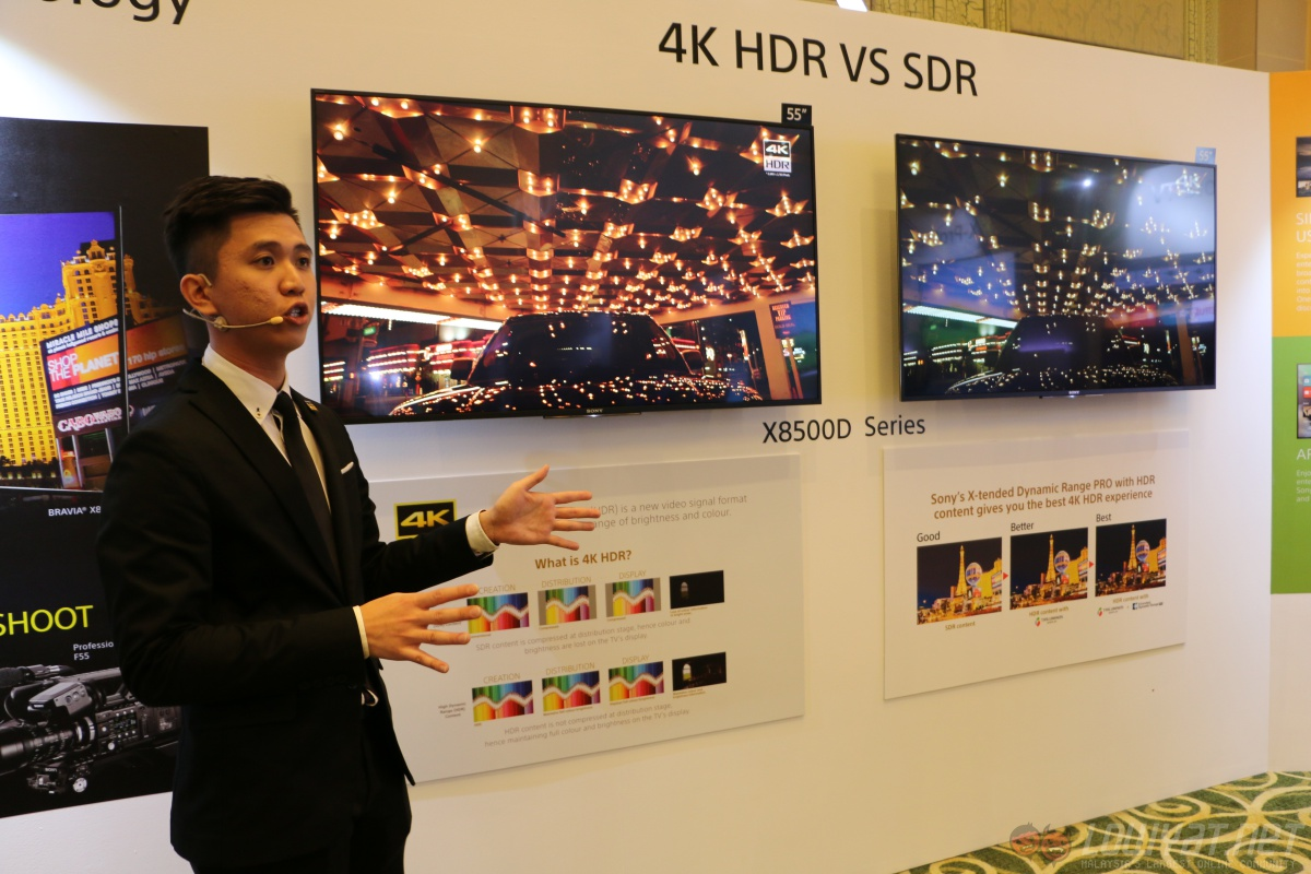 sony introduces x93d x85d 4k hdr tvs in malaysia retail. Black Bedroom Furniture Sets. Home Design Ideas