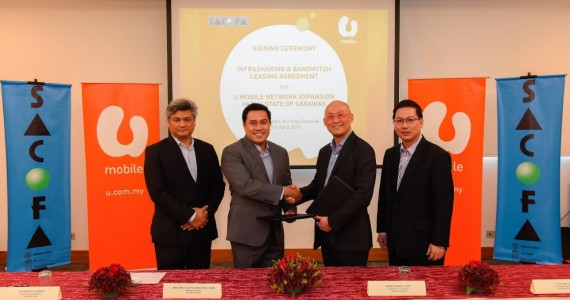 U Mobile - Sacofa Network Deal