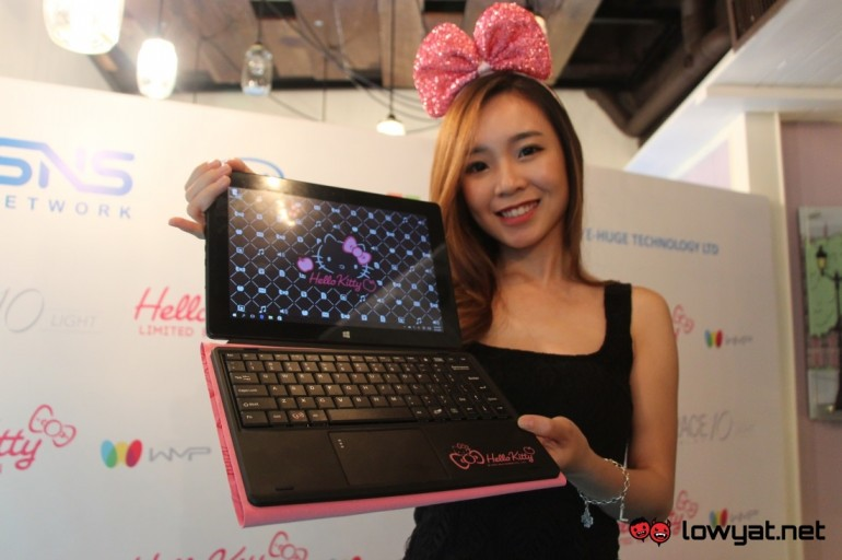 836d946b6 Hello Kitty Grace 10 Light 2-in-1 Laptop Now In Malaysia For RM 999 ...