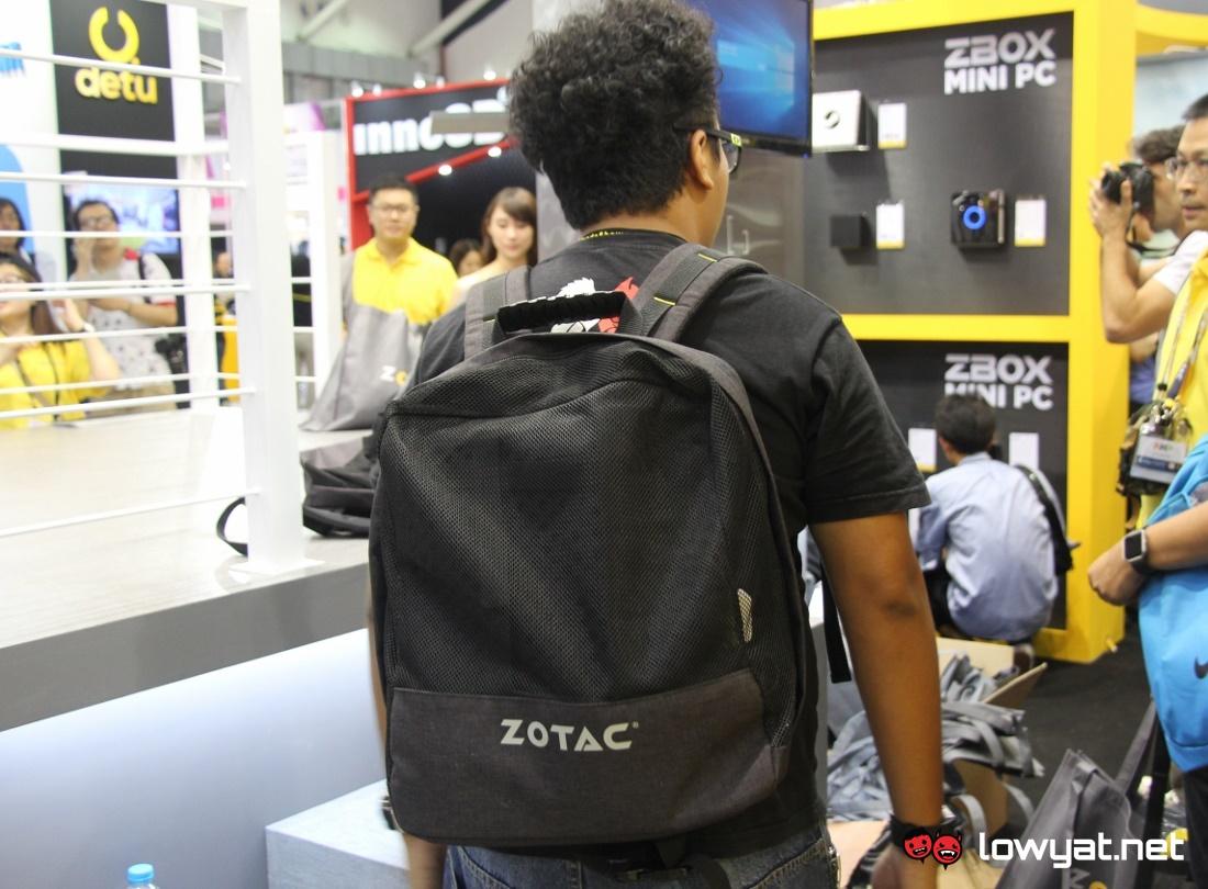 Computex 2016 Zotac Portable VR Backpack PC 11