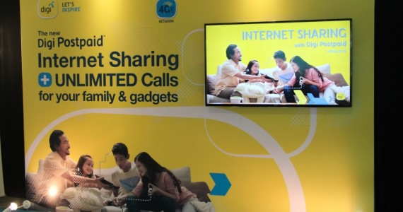 DiGi Internet Sharing form Postpaid Launch 01