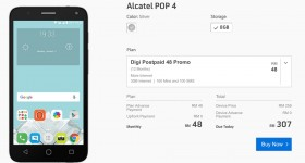 Digi Alcatel Pop 4