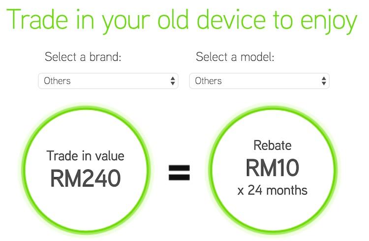 Maxis iPhone 6s Trade In Program Minimum Value