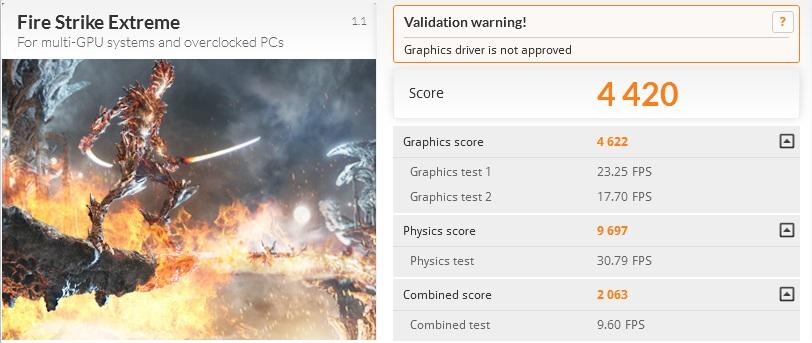 Predator 17 Fire Strike Extreme