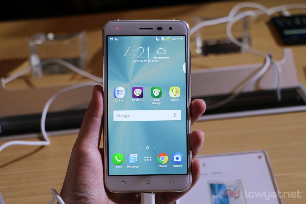 asus zenfone 3 series hands on 6gb ram smartphones are in lowyat net. Black Bedroom Furniture Sets. Home Design Ideas