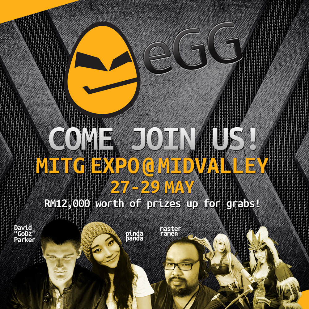 eGG Network Booth