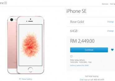 iPhone SE Apple Malaysia Buy Now