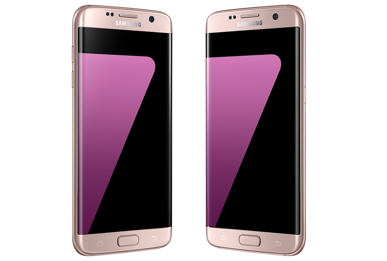 Image result for s7 edge pink gold