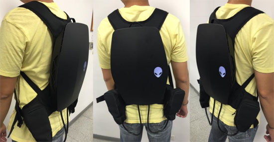 Alienware VR Backpack E3 2016