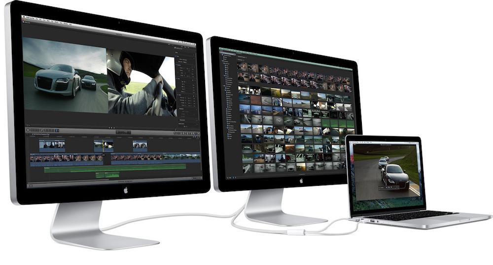 Apple Thunderbolt Display Discontinued