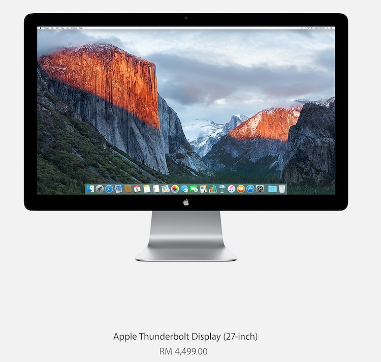 Apple Thunderbolt Display Malaysia