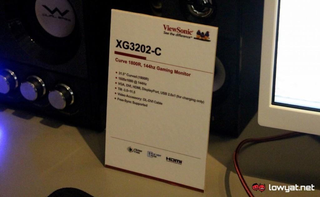 Computex 2016 ViewSonic Gaming Monitor Series 03