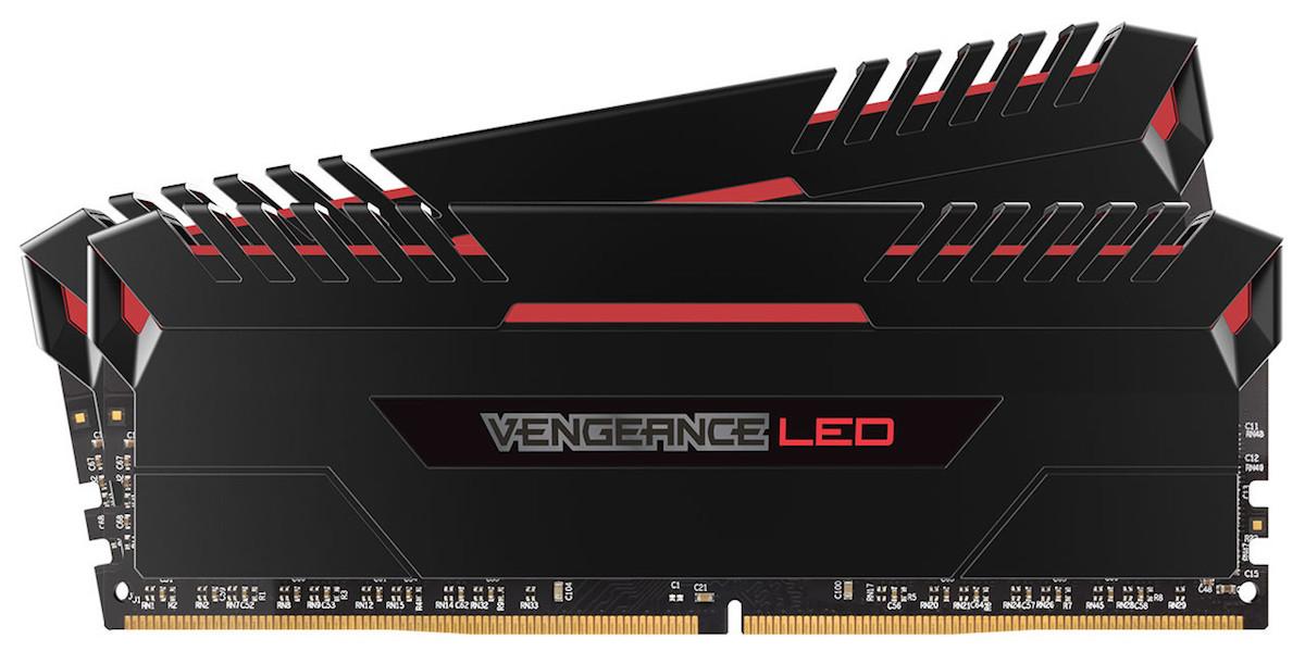 Corsair Vengeance LED Red
