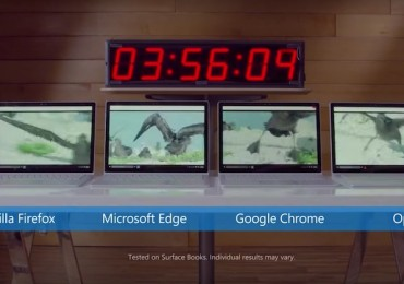 Microsoft Edge Battery Life Experiment