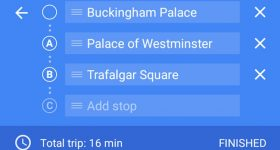Multiple Destinations on Google Maps for Android