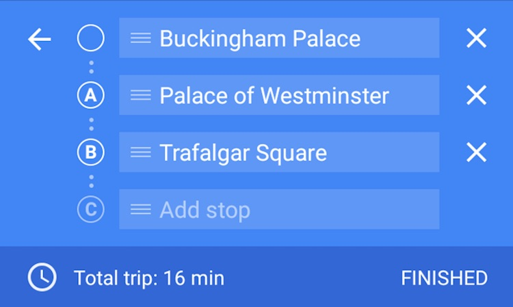 Google Finally Brings Multiple Destinations Feature to its Maps App on