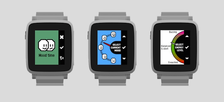 Pebble Happiness App Now Available