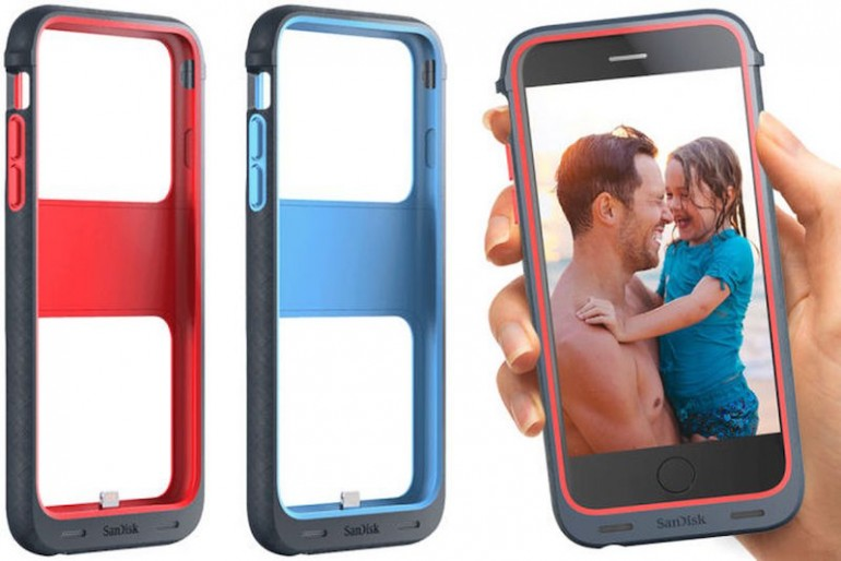 another chance 712bb 458ca SanDisk Announces Phone Case that Gives Your iPhone 6s Up To 128GB ...