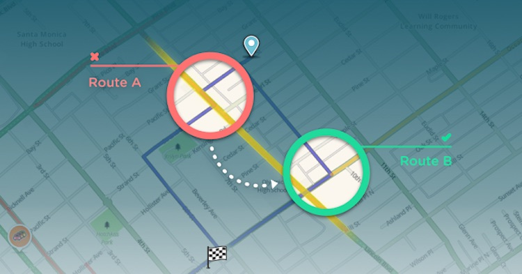 Waze Avoid Difficult Intersections