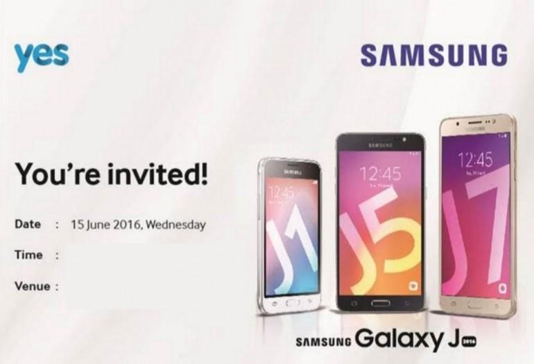 Samsung Galaxy J Series 2016 Launching In Malaysia On 15