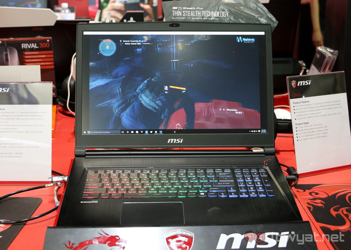 Computex 2016 Msi Gt73 And Gs73 Are World S First Gaming