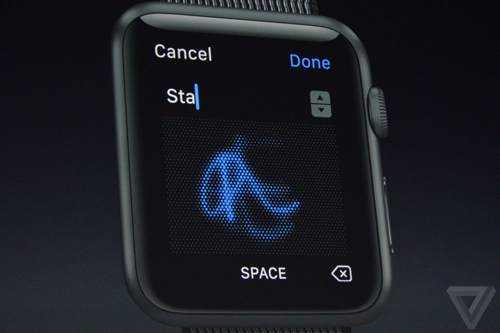 watchOS 3 Scribble to reply messages