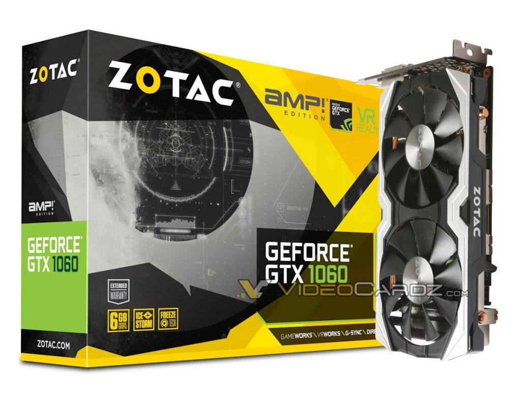 ZOTAC GTX 1060 AMP Edition