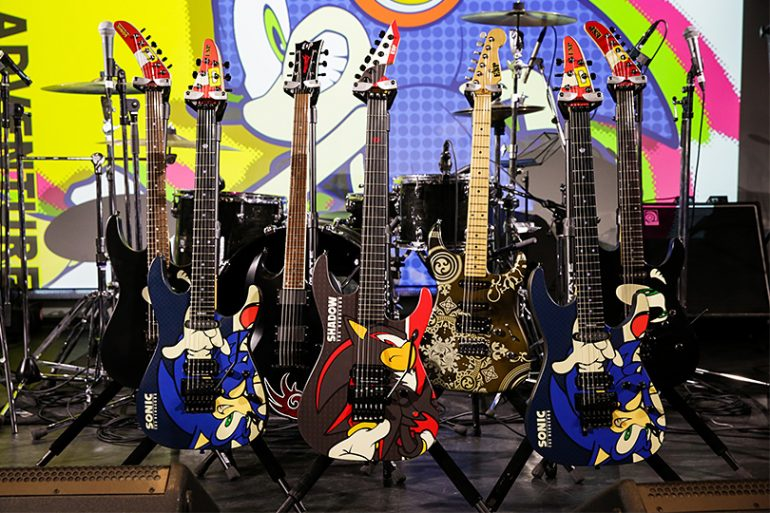 Esp Announces Sonic The Hedgehog 25th Anniversary Guitars Available For Pre Order In Malaysia Lowyat Net