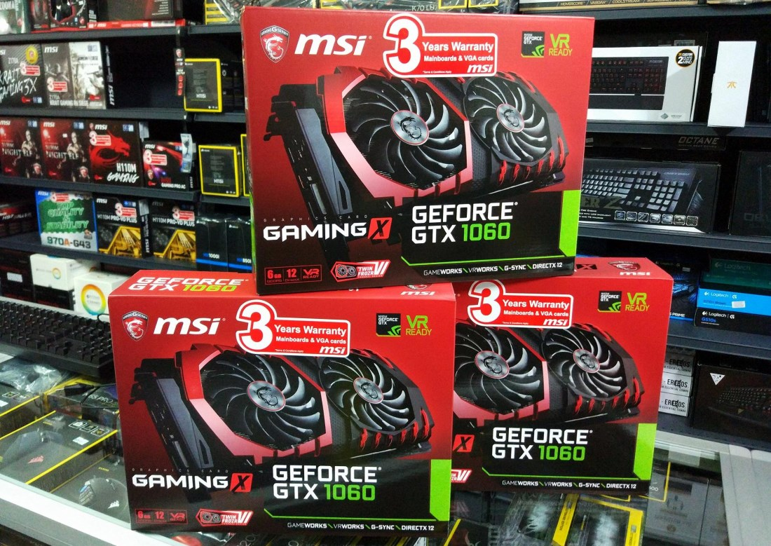 MSI GeForce GTX 1060 Gaming X Now Available In Malaysia For